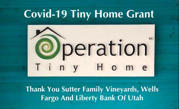 Covid-19 Tiny Home Grant